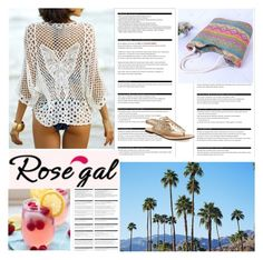 """Summer time"" by antonija2807 ❤ liked on Polyvore featuring H&M, Arche, pretty, jeans and rosegal"