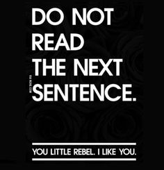 For some reason when I read this, I imagine it in Russell Brand's voice. Is that strange?