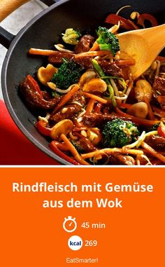 Beef with vegetables from the wok - Beef with vegetables from the wok - . - Beef with vegetables from the wok – Beef with vegetables from the wok – smarter – calories: 2 - Vegetable Soup Healthy, Vegetable Recipes, Meat Recipes, Vegetarian Recipes, Healthy Recipes, Vegetable Drinks, Greek Recipes, Asian Recipes, Mexican Food Recipes