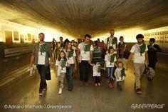 Hoje faz um ano que entregamos no Congresso Nacional o proposta de lei do Desmatamento Zero, que contou com ampla participação popular. Foi um longo caminho até a entrega. Uma trajetória que começou em 2012, com uma simples petição, e tornou-se um gigantesco movimento por um futuro sem o desmatamento de florestas no Brasil.