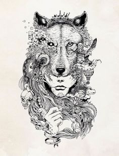Philippines-based illustrator Kerby Rosanes has created a new stunning series of doodles and illustrations...