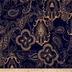 Liverpool Double Knit Print Paisley Blue/Khaki from @fabricdotcom  This medium weight double knit fabric has a soft hand and 40% stretch across the grain. It is perfect for jackets, dresses, and skirts. Colors include blue and khaki/tan.