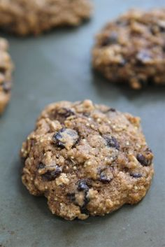Quinoa-Cookies add some chocolate in there and we'll give this a GO!