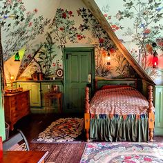 Room Of One's Own, New Room, Alice In Wonderland Room, Cottage Style Homes, Cozy Place, Home Room Design, Dream Rooms, My Dream Home, Bedroom Decor