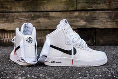 "Nike Air Force 1 High Perf ""White & Black"" - EU Kicks: Sneaker Magazine"