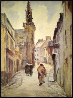 """Marguerite Paulet  """"Rue Ste Hélène """""""