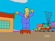 Homer Simpson ~ Car Lot Wind Sock