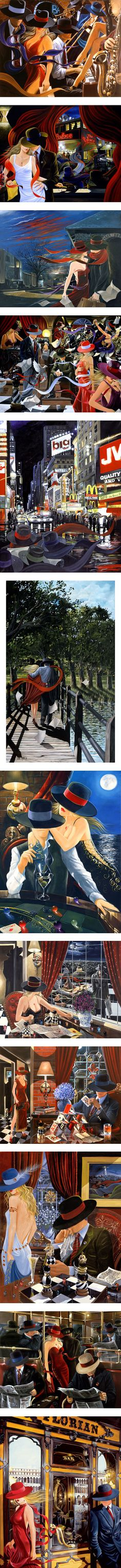 Victor Ostrovsky by eros69 on Polyvore featuring home and home decor