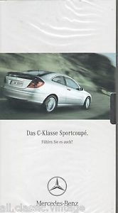 MERCEDES-BENZ - C-KLASSE Sportcoupe Video German 2001 new and sealed | eBay