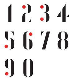 Matt Willey: Numbers, for Vanity Fair anniversary issue