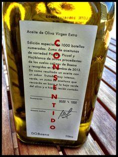 El Alma del Vino.: Gastronomía : AOVE Consentido.