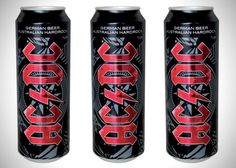 Rock Rock Band AC/DC Gets Their Own Beer