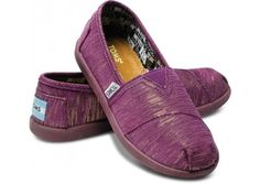 Youth - Purple Youth Sparkles | TOMS.com - StyleSays