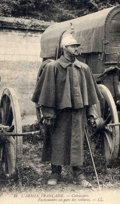 WW1. French curassier…
