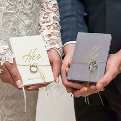 Personalized Wedding Ceremony Vows Book...Write your wedding vows..Bride and Groom Vows..DIY Vows..How to write wedding vows..Add this dreamy ivory or charcoal Linen Pocket Journal His or Her Vows Emboss Book to your wedding ceremony. This vow book is sized to fit almost any pocket or purse. The perfect journal to record your hand written wedding vows.