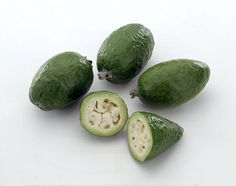 Feijoa, another exotic Colombian fruit