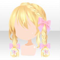(Hairstyle) Unicorn Braided Hair ver.A yellow.jpg