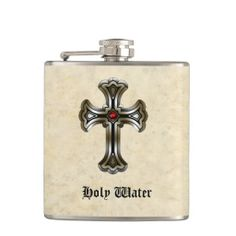 Holy Water Gothic Humor Flask