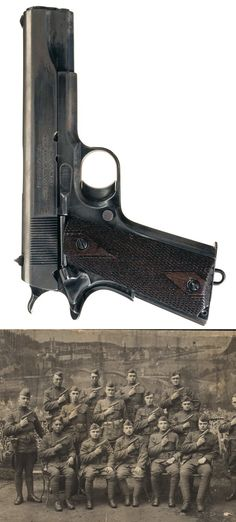 Extremely Rare North American Arms Model 1911 Semi-Automatic Pistol, U.S.A.