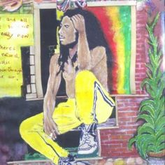 Bob Marley, by  Rodney Dawkins of Ritchies, Jamaica