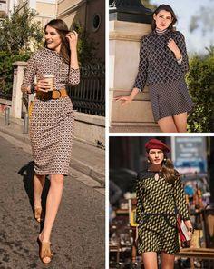 Retro Mix: 8 NEW Women's Sewing Patterns