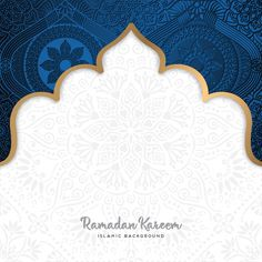 Beautiful ramadan kareem greeting card design with mandala art Premium Vector Mandala Art, Mandalas Drawing, Mandala Design, Islamic Art Pattern, Arabic Pattern, Pattern Art, Ramadan Cards, Ramadan Design, Business Card Design