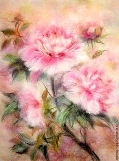 Картины из шерсти   Валяние   Magic Wool Art