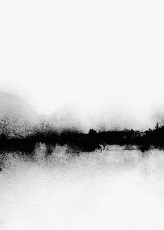 Modern Art, Contemporary Art, Black And White Wall Art, Black White, Pics Art, Oeuvre D'art, Framed Art Prints, Watercolor Paintings, Abstract Art