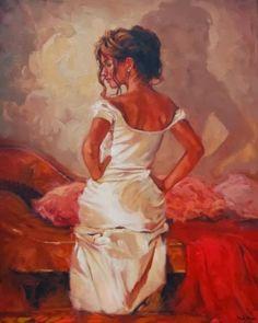 Mark Espanha | pintor figurativo britânico