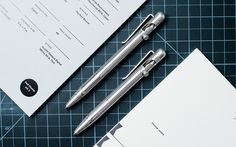With several successful Kickstarter campaigns under their belt, Tactile Turn knows how to machine and deliver a quality EDC pen. After releasing a clicky pen and fountain pen, they're at it again with a duo of bolt action pens—the Slider and Glider. These EDC-ready writing utensils are 100% made in-house with a unique mechanism to open and close the pen.A bolt action pen typically features a J-shaped groove, which isn't the easiest to use with one hand. The Tactile Turn Slider and Glider…