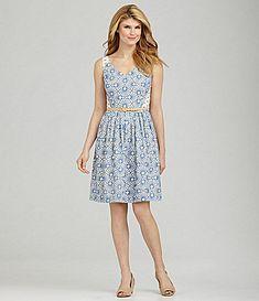 Antonio Melani Dorothena Embroidered Dress #Dillards