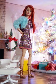 Barbie Style, Barbie Model, Barbie And Ken, Diorama Barbie, Barbies Pics, Made To Move Barbie, Barbie Fashionista Dolls, Light Blue Top, Western Chic