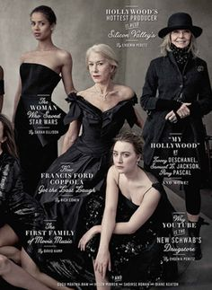 Well, if you look closely, you'll see freaking Diane Keaton casually slaying without wearing a gown.