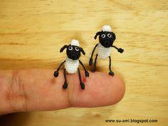 Por Dentro... em Rosa: As incríveis miniaturas de personagens famosos e animais feitas de crochê