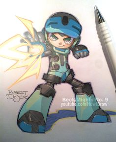 Fanart Beck Mighty No. 9 by Banzchan.deviantart.com on @deviantART