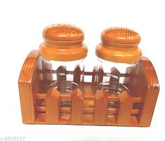 Checkout this latest Salt & Pepper Shakers Product Name: *Salt & Pepper Boxes* Material: Plastic Pack Of: Pack Of 2 Easy Returns Available In Case Of Any Issue   Catalog Rating: ★4.1 (3660)  Catalog Name: Luxerette Home & Kitchen Utilities Vol 8 CatalogID_265238 C130-SC1641 Code: 721-2007077-561