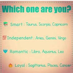Honestly, I'm surprised they put Aquarius under romantic. I'm not saying Aquarians aren't but we're typically known more for being smart, independent, or loyal... #Aquarius ♒️