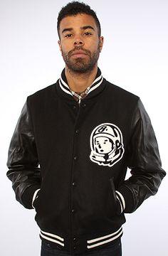 Billionaire Boys Club The Classic Varsity Jacket in Black : Karmaloop.com - Global Concrete Culture