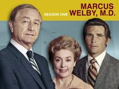 Marcus Welby, M.D. - an American medical television series, aired on ABC from September 23, 1969, to July 29, 1976. Main stars were Robert Young (Dr. Marcus Welby) and James Brolin (Dr. Steven Kiley). The show tells the story of the doctors Marcus Welby, a general practitioner and Steven Kiley, Welby's young assistant. The two try to treat people as individuals in an age of specialized medicine and uncaring doctors. We watched it weekly.