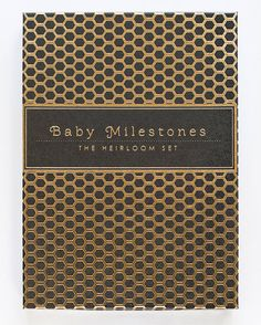 Baby Milestones The Heirloom Set by SycamoreStreetPress on Etsy, $29.00