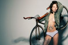 Les hipsters sexy de TheFixFixFix dans un monde de barbus ! | Fixie Singlespeed