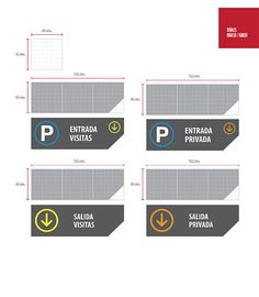 Parking signaling project for Europlaza Guatemala business center. Hotel Signage, Wayfinding Signage, Signage Design, Map Design, Sign Board Design, Sign System, Parking Signs, Environmental Graphics, Signages