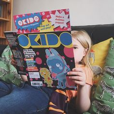 The kids are LOVING @okidomagazine keep an eye on the blog for their #review next week