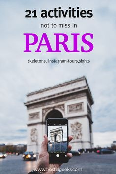 The 21 best activities in Paris - not to miss! Some of them need to be booked in advance.  Enjoy Paris, Hostelgeeks
