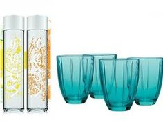 Win a Voss Sparkling Water and Four Drinking Glasses from Womans Day