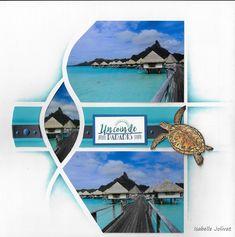 Magnifique souvenir mis en page avec le gabarit Azza Zuerich Album Photo Scrapbooking, Scrapbooking Layouts, Zurich, Bora Bora, Photos, Travel, Rando, Turtles, Souvenir