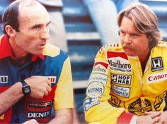 Sir Frank Williams and Keke Rosberg