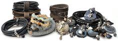 Pimps & Pearls | Eigentijdse handgemaakte lederen sieraden en accessoires. Nu bij LaVita en vanaf november wordt de collectie heel uitgebreid!