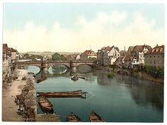 [Fulda Bridge, Cassel (i.e., Kassel), Hesse-Nassau, Germany]