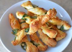 Make these Parmesan Spinach Twists for your little one.